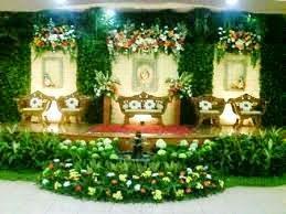 taman pelaminan pengantin
