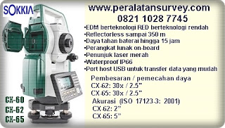 Total Station Sokkia || Indosurta Jual peralatansurvey SOKKIA
