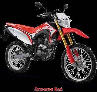 Harga dan Spesifikasi Honda CRF150L 2018