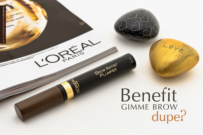 Benefit Gimme Brow Dupe Speaking Beauty Uk