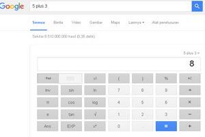 fasilitas pencari,pencari google,kalkulator