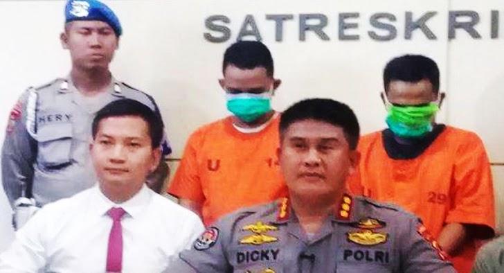 Kabid Humas Polda Sulsel, Gelar Konfrensi Pers di Mapolrestabes Makassar