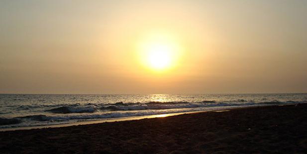 ηλιοβασίλεμα-Ελλάδα-καλοκαίρι-ήλιος-θάλασσα-Καϊάφας-Ηλεία