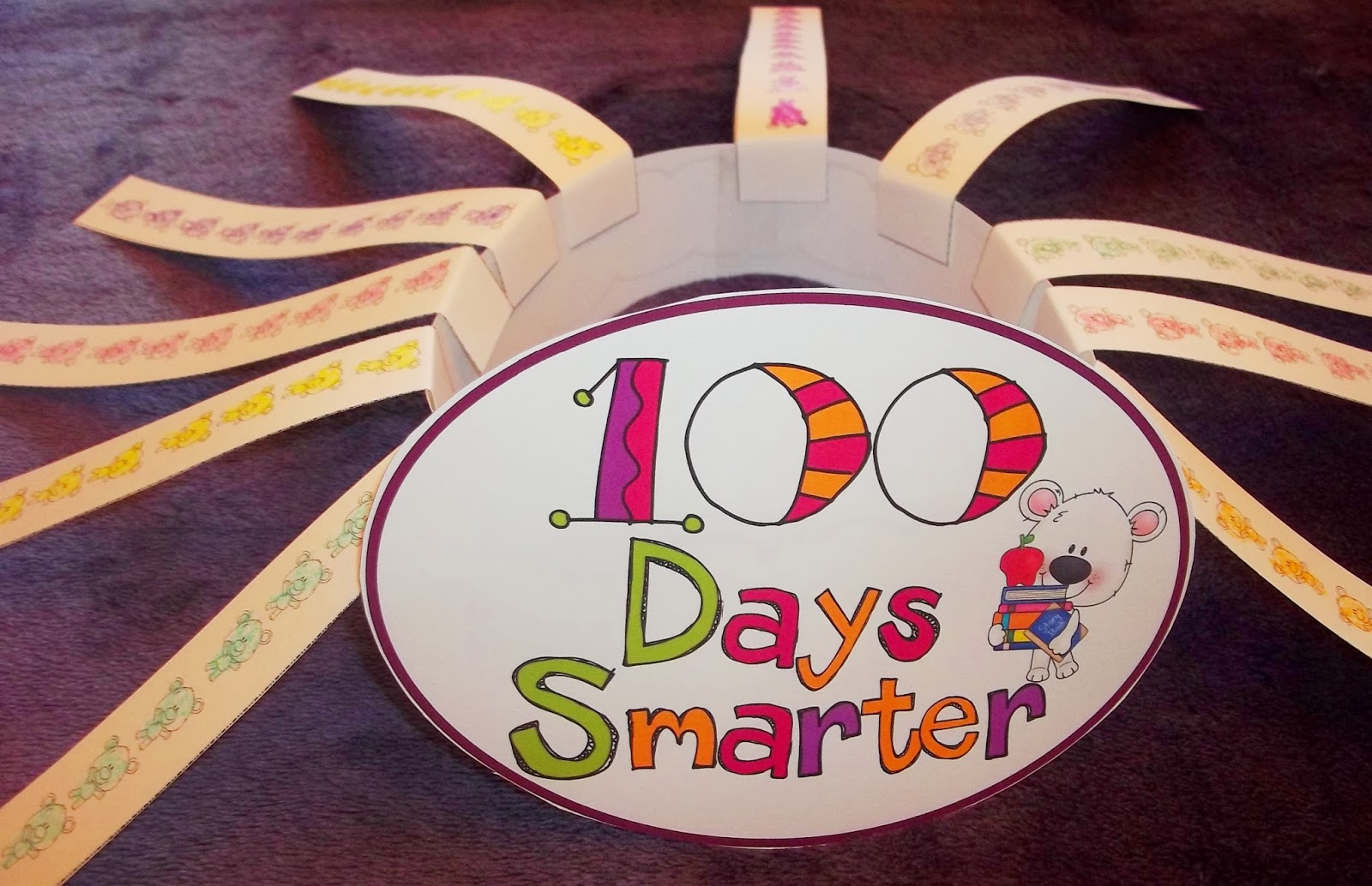Sweet tea classroom 100th day activities for the number for 100th day hat template