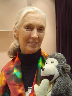 Happy Birthday Jane Goodall 03 April 2013