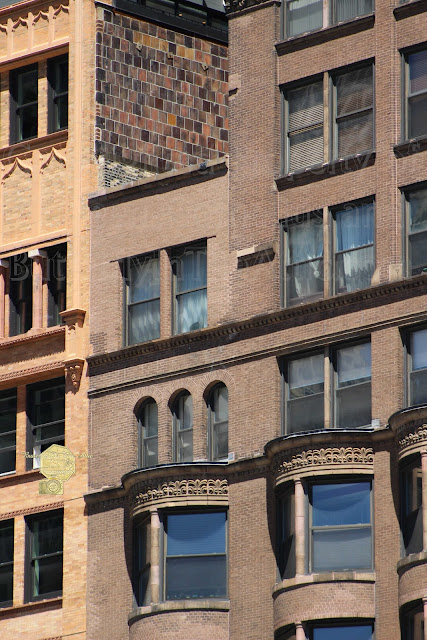 Brownstone Buildings In Chi Town Fine Art Photography