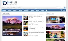 SeoBeast Media blogger template