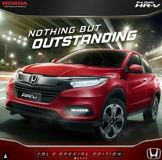 Honda HR-V Tipe E CVT Special Edition