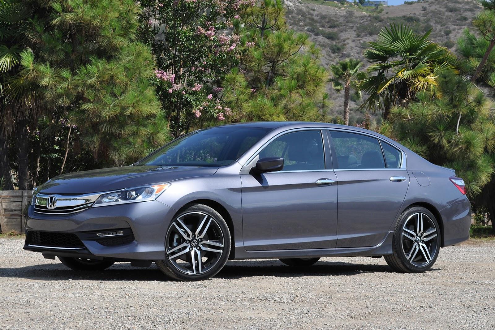 Honda Accord 2016 đã có nhiều thay đổi ngoại hình, mạnh mẽ hơn