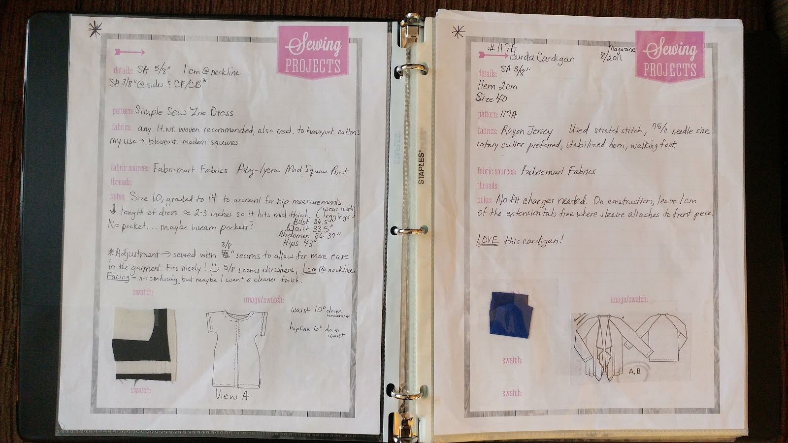 Free Printable Sewing Worksheet
