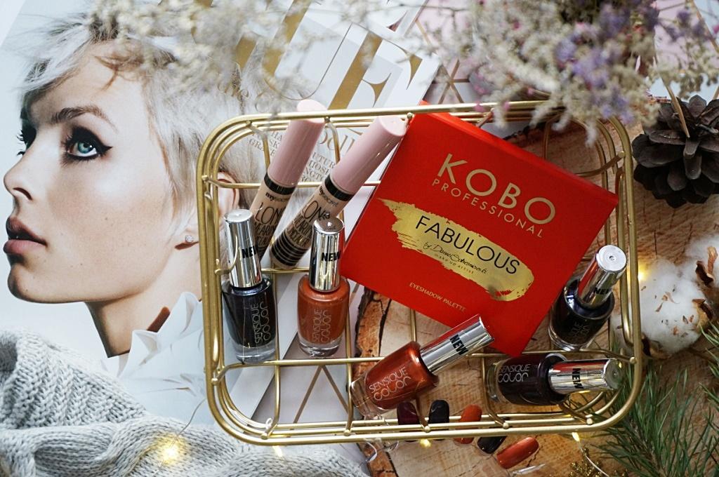 Drogeria Natura nowości do makijażu Kobo Professional Sensique My Secret