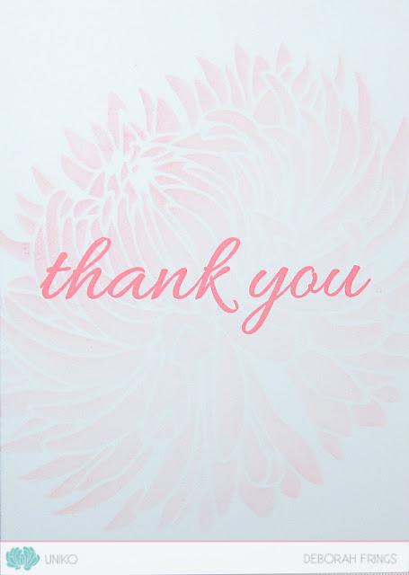 Thank You - photo by Deborah Frings - Deborah's Gems