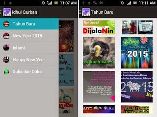 Free download DP BBM animasi Tahun Baru 2015 gambar bergerak .gif