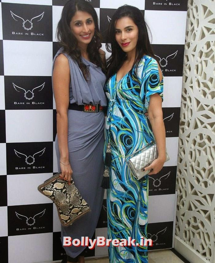 Celebs at Bare in Black Launch Party