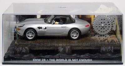 Autos a escala colección James Bond BMW Z8