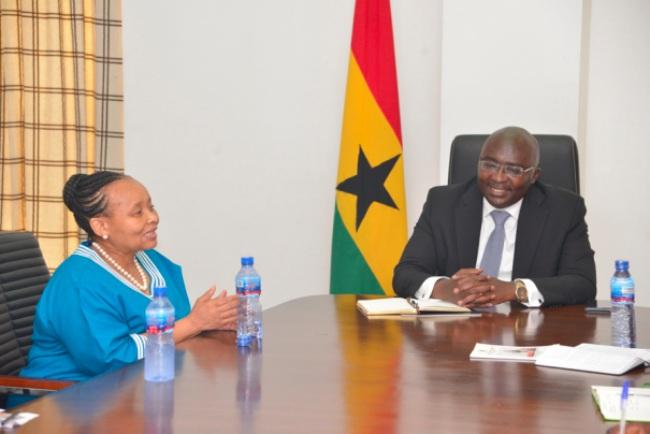 South Africa Ready To Learn From Ghana's Digital Address System, H.E. Ambassador Lulu Xingwana