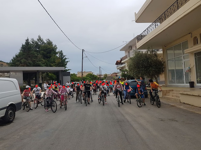 Με μεγάλη συμμετοχή η Ποδηλατάδα 7 Δημοτικών Σχολείων του Άργους