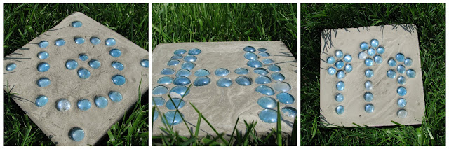 Wedding Garden Stepping Stones Adventures of D and V