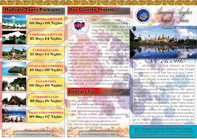 Brochure of Amazing Angkor Travel & Tours