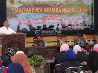 Mahasiswa asli Pati se-Indonesia sepakat membangun desa