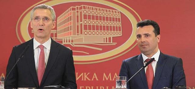 Stoltenberg: Name dispute settlement crucial for Macedonia's NATO membership