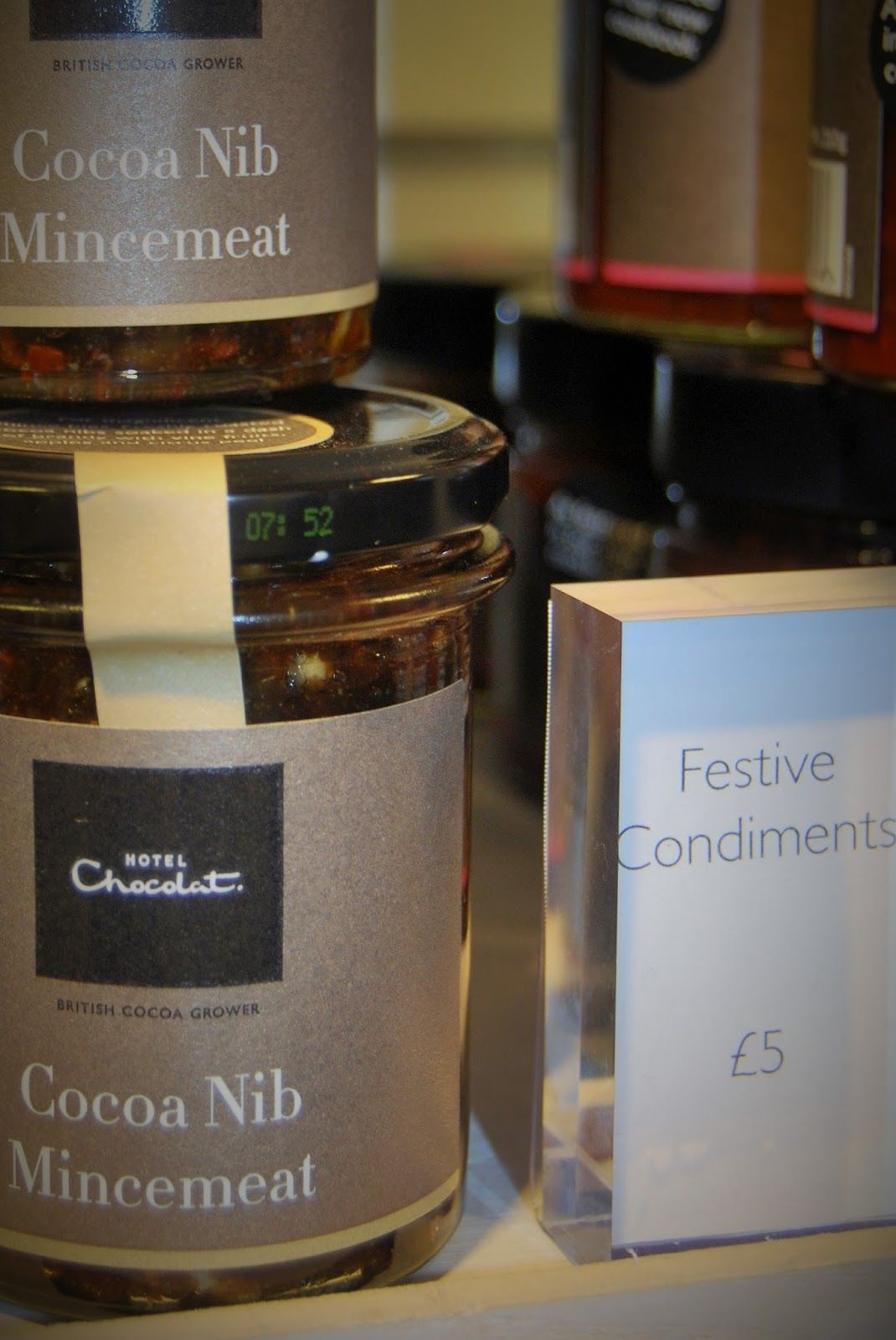 Chocolate mincemeat, Hotel Chocolat Christmas Cracker Giveaway, photo by Modern Bric a Brac