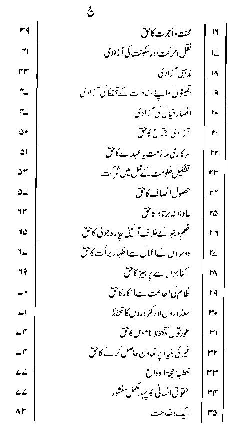 Human Rights in Islam Insani Haqooq Ka Islami Manshoor PDF
