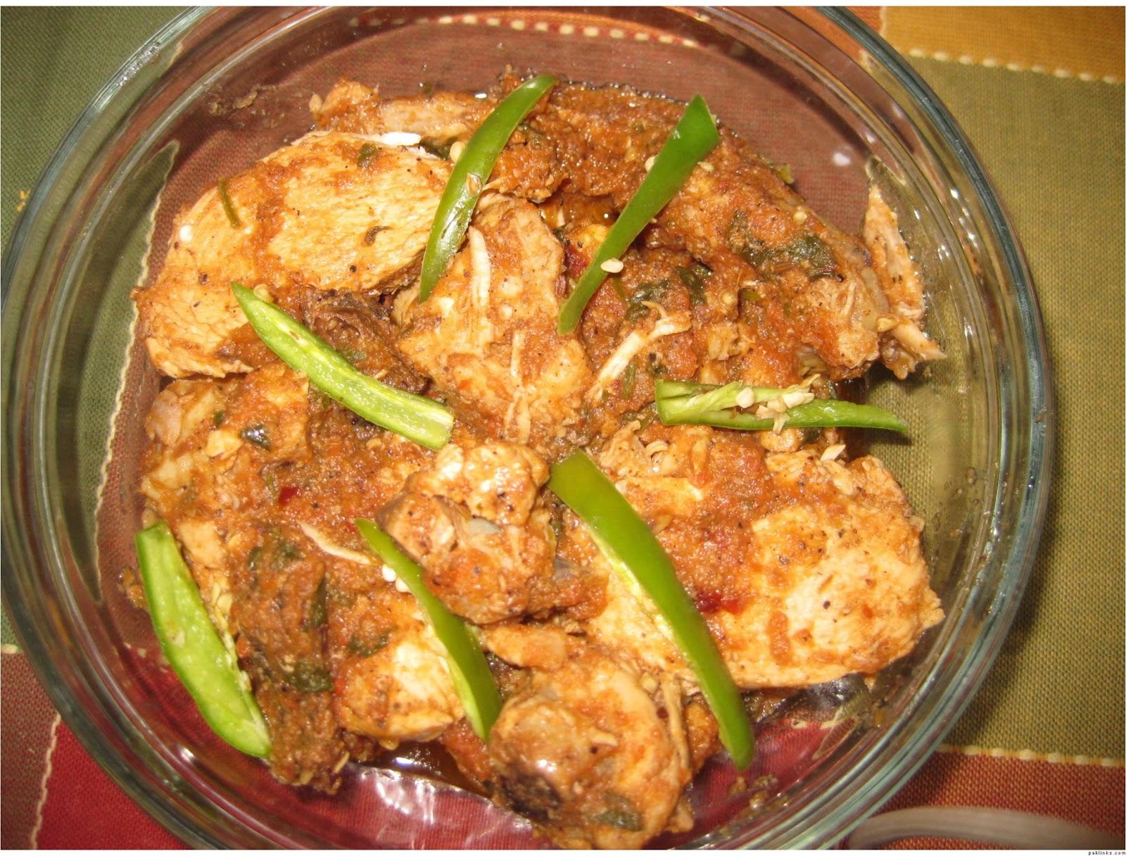 Pakistani Kitchen: Lahori Red Chicken Karahi