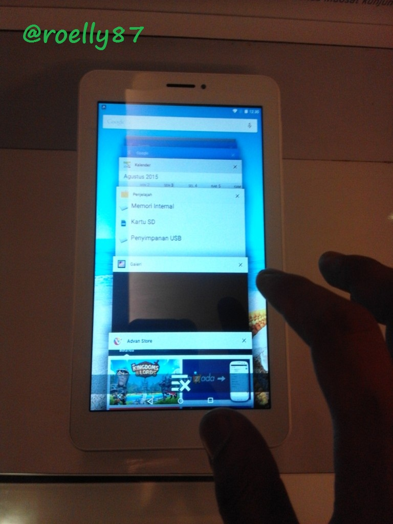 Membedah Keunggulan Tablet Advan Vandroid X7