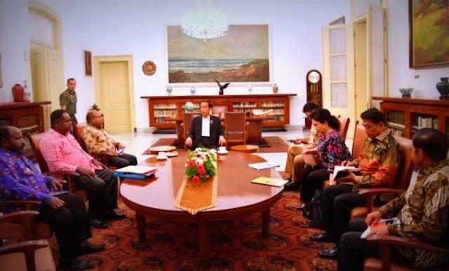 Ini Alasan Presiden Joko Widodo Panggil Lukas Enembe, Elisa Kambu dan Wentius Nimiangge