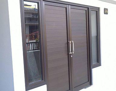 Desain Pintu Aluminium Terbaru Untuk Rumah Minimalis 2