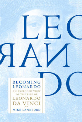 "Book cover of ""Becoming Leonardo"" by Mike Lankford"