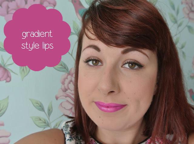 gradient style lips