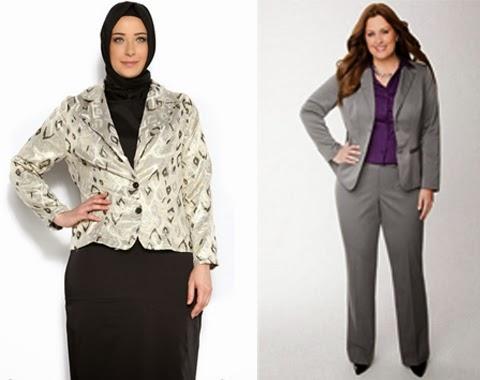 model baju kerja resmi wanita gemuk model baju kerja wanita