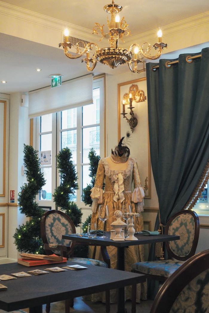 Restaurant Réminisens à Versailles