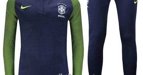 survetement equipe de Brésil 2016