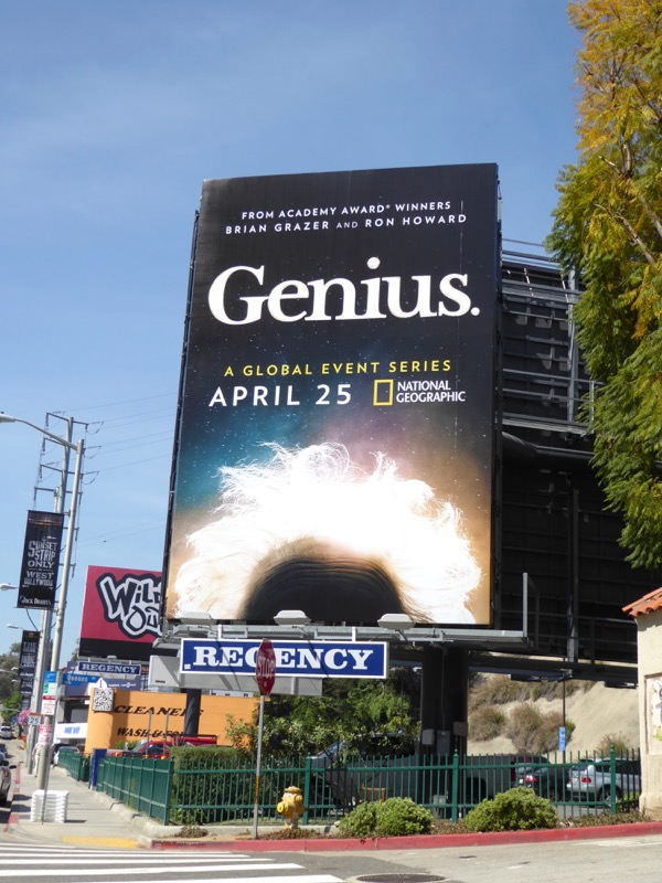Genius series premiere billboard