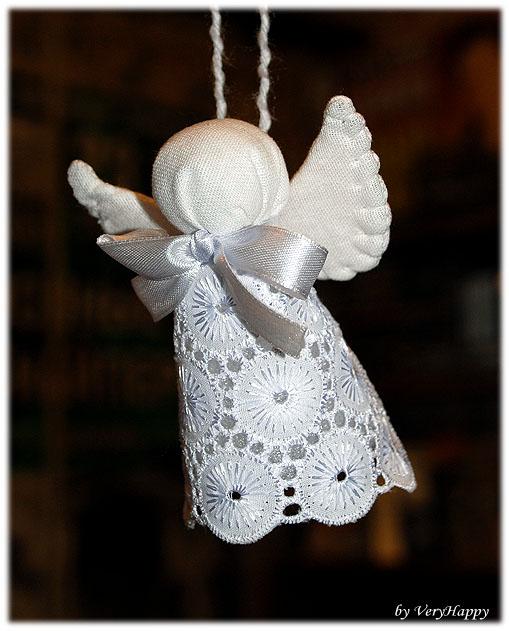 Всё о Новом годе: Новогодние ангелы своими руками: идеи