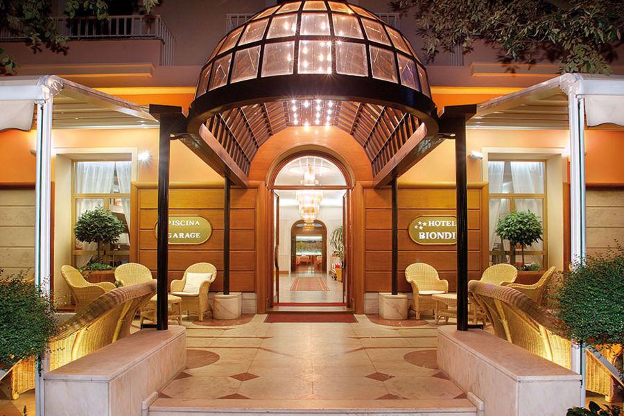 Hotel Biondi dove dormire a Montecatini