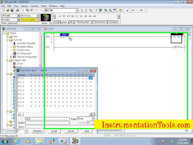 Allen Bradley RSLogix 500 PLC Programming | Instrumentation