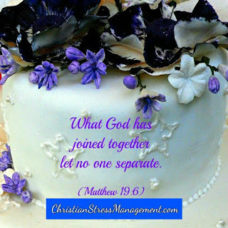 What God has joined together, let no one separate. (Matthew 19:6)
