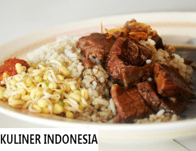 Kuliner Indonesia - Masakan Khas Jawa Warung Sidik