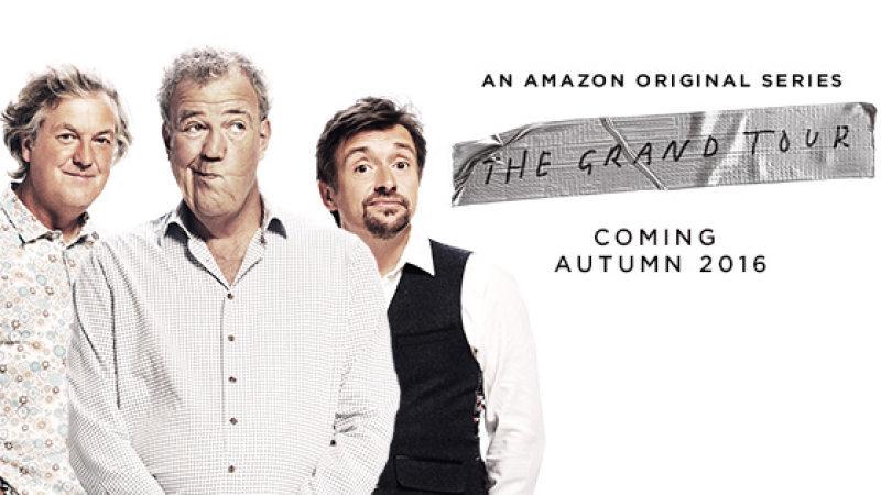 James May, Jeremy Clarkson, Richard Hammond từ trái qua phải