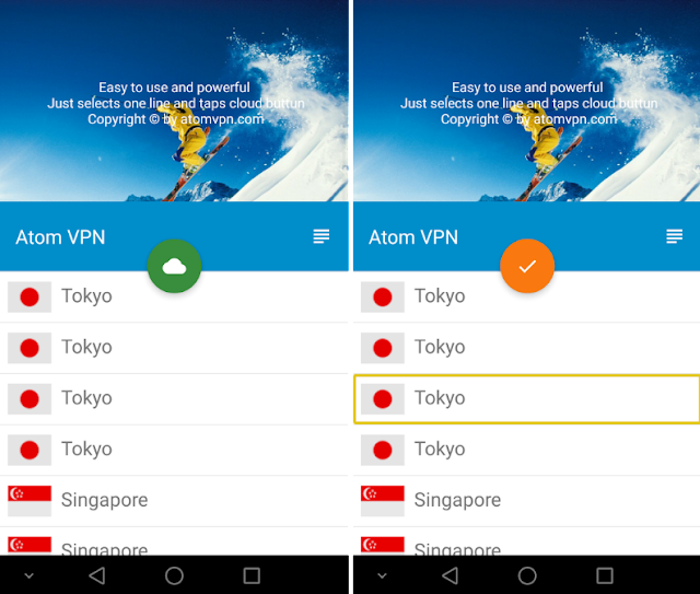 Atom VPN App