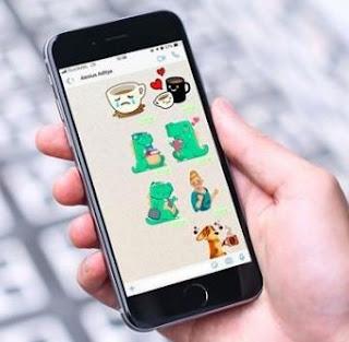 Cara Membuat Stiker WhatsApp Sendiri dari foto selfie