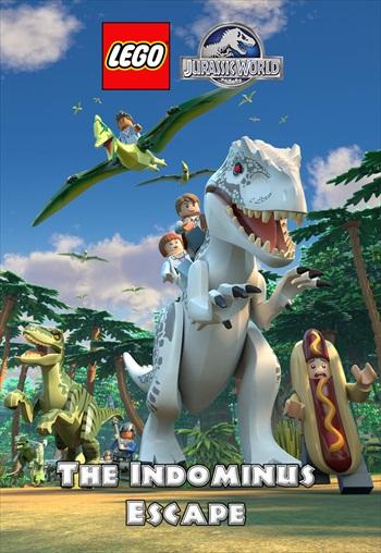 Lego Jurassic World 2016 Dual Audio Hindi 720p WEB-DL 300mb