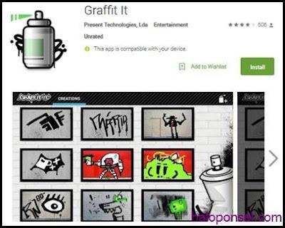 Aplikasi Pembuat Graffiti di Hp Android - Graffit It