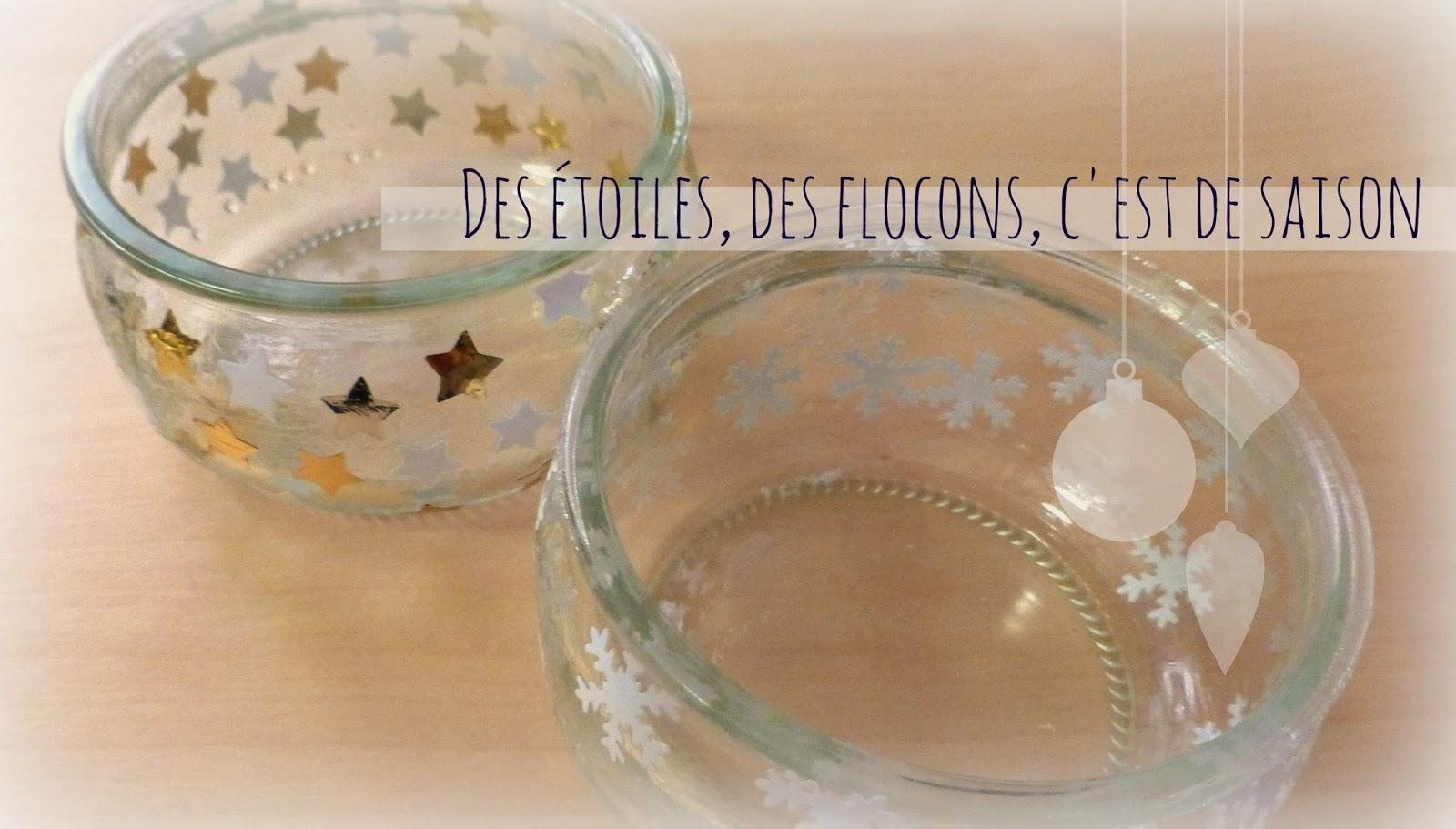 Decoration De Noel  Ef Bf Bd Fabrique Avec Des Pots De Yaourt