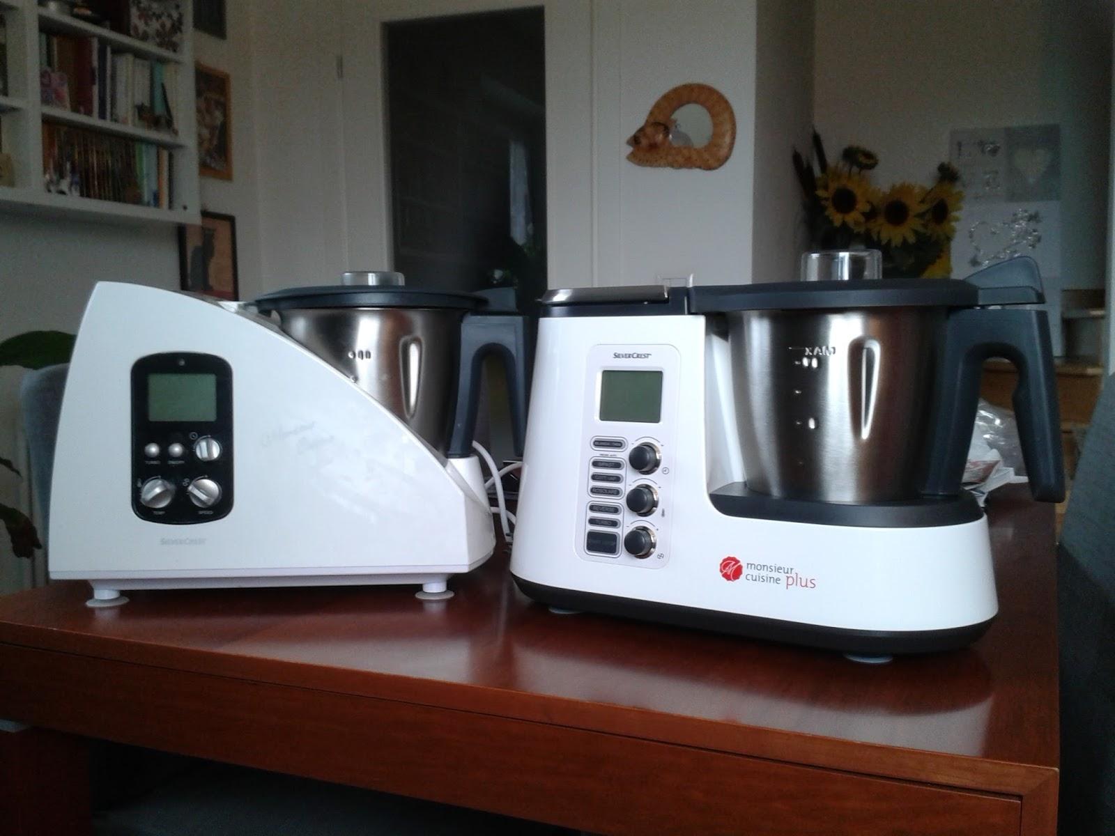 Le stanze di azzurra doppietta moncu monsieur cuisine for Robot monsieur cuisine plus