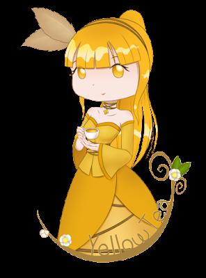 Yellow Tea Żółta Herbata na kubek